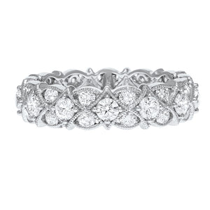 Garland Diamond Eternity Ring - R&R Jewelers