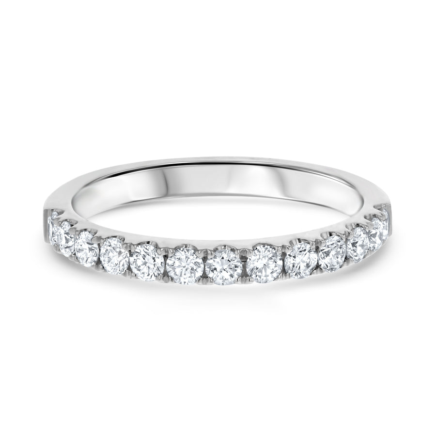 Shared Prong Diamond Wedding Band, 0.46 ct - R&R Jewelers