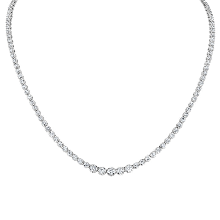 Graduated Diamond Necklace - R&R Jewelers