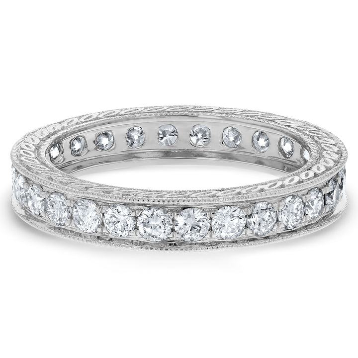 Diamond Eternity Wedding Band - R&R Jewelers