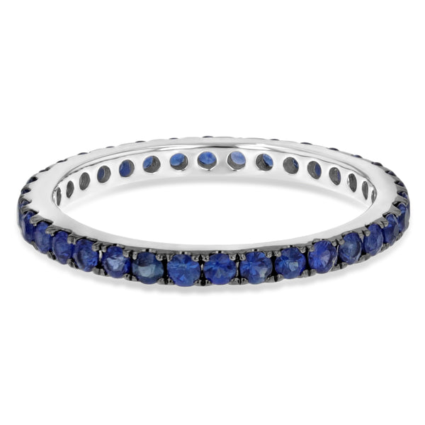 Sapphire Eternity Band, 0.95 ct - R&R Jewelers