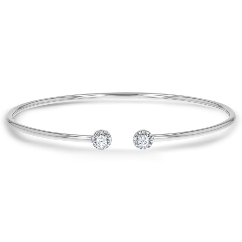Diamond Cuff Bangle, 0.31 ct - R&R Jewelers