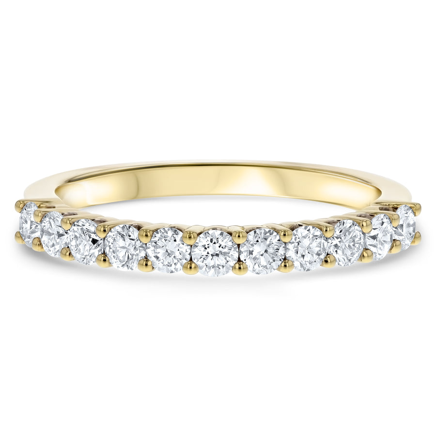 Diamond Wedding Band, 0.62 Carats