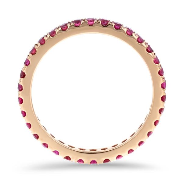 Ruby Eternity Band - R&R Jewelers