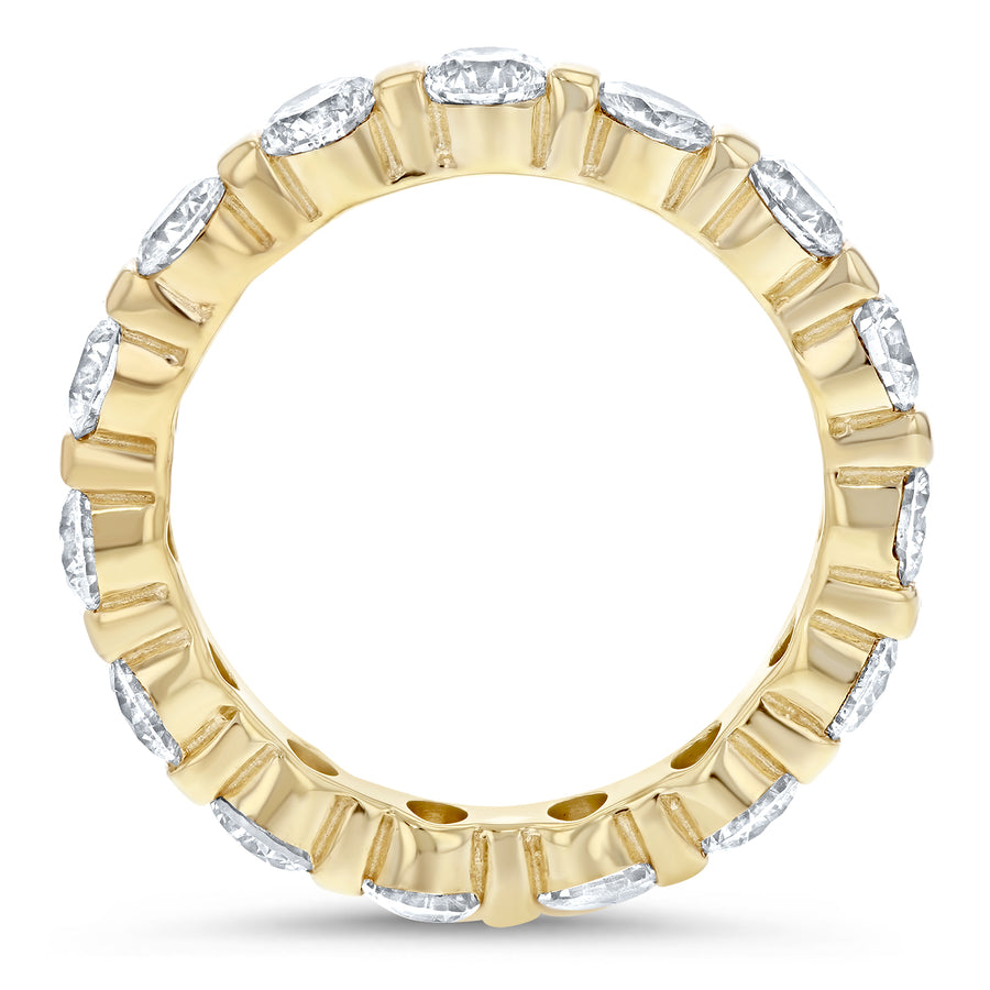 Diamond Station Eternity Band - R&R Jewelers