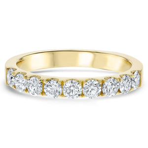 Diamond Wedding Band, 0.78 Carats