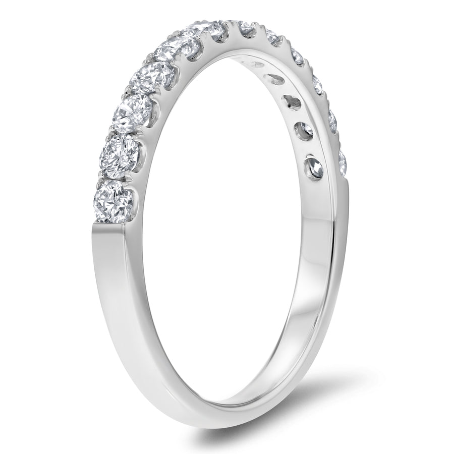 Diamond Weddind Band, 0.61 Carats