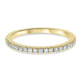 Halfway Diamond Pavé Band - R&R Jewelers