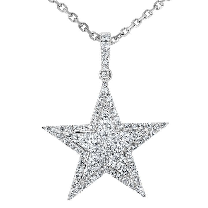 Diamond Pave Star Pendant - R&R Jewelers