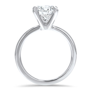 Four-Prong Simple Solitaire Engagement Ring - R&R Jewelers