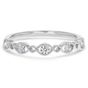Art Deco Diamond Ring, 0.22 Carats - R&R Jewelers