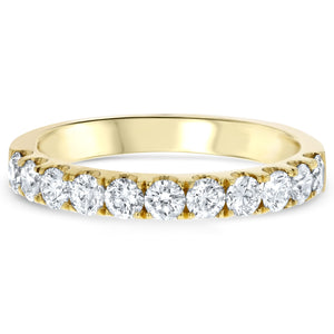 Diamond Wedding Band, 0.86 Carats - R&R Jewelers