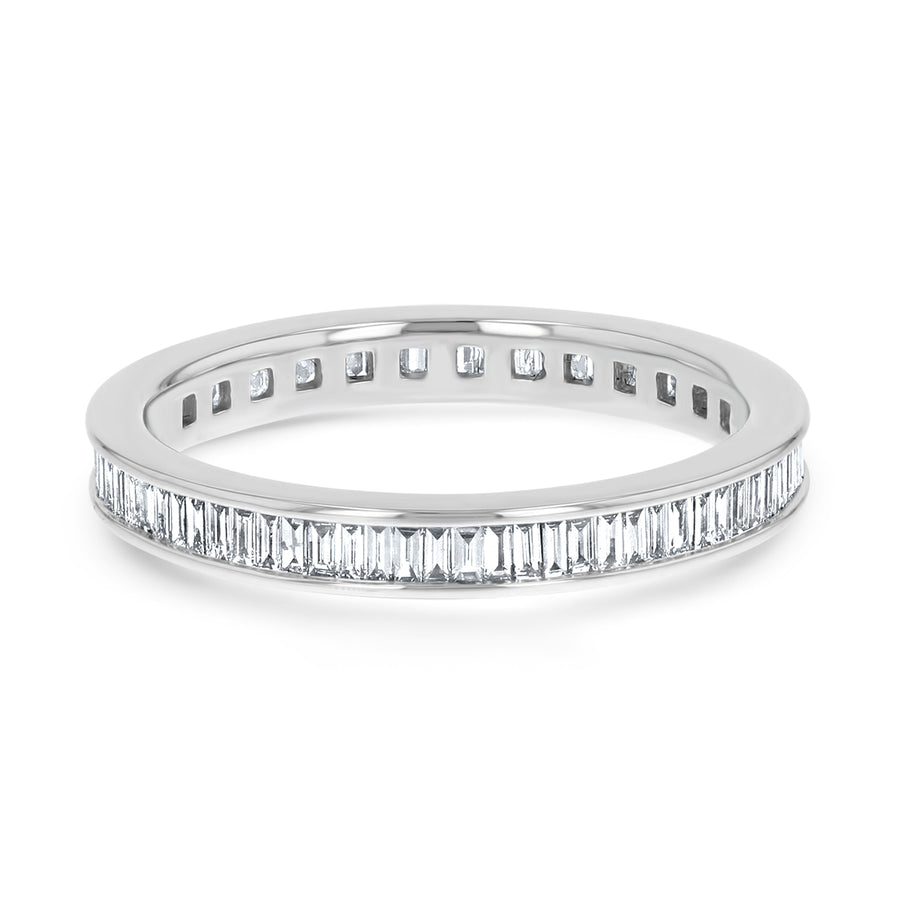 Baguette Eternity Band - R&R Jewelers