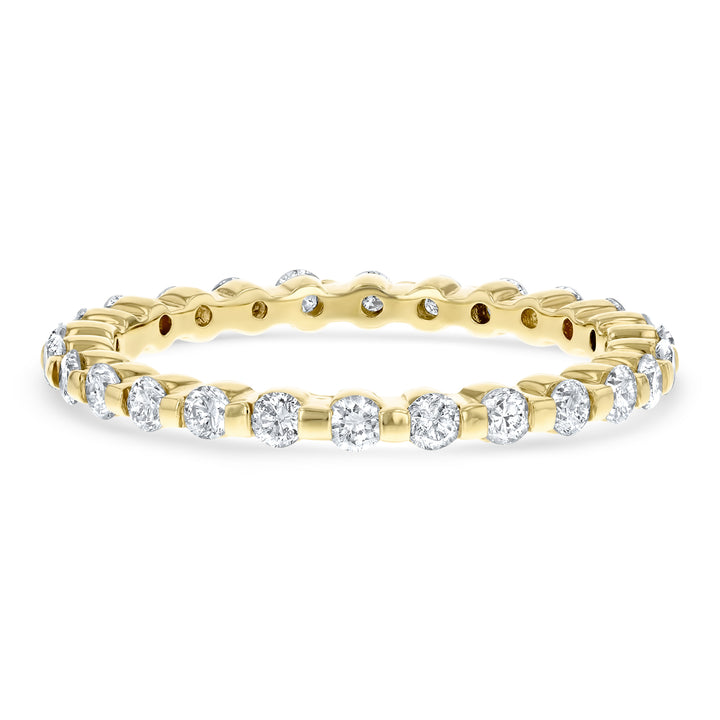 Petite Diamond Station Eternity Band - R&R Jewelers