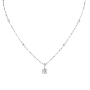 Diamond Station Pendant - R&R Jewelers