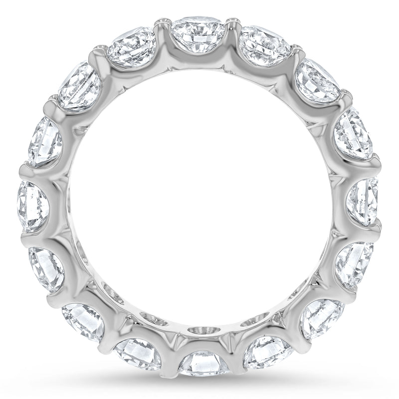 Round Brilliant Diamond Eternity Band, 3.39 ct - R&R Jewelers