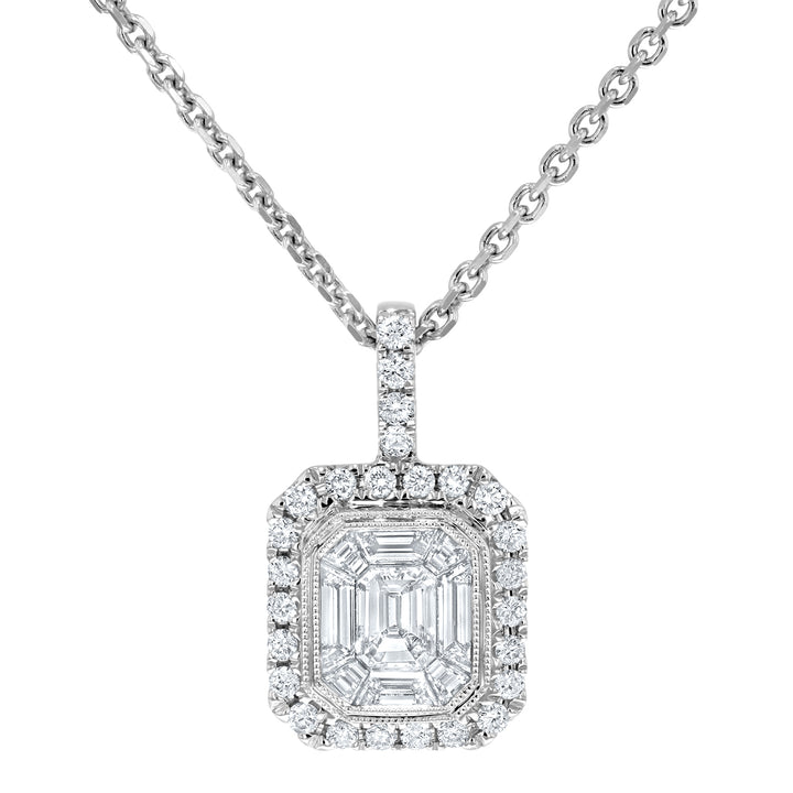 Diamond Illusion Pendant - R&R Jewelers