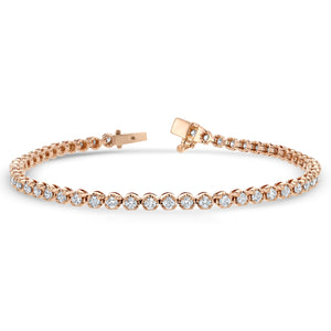 Diamond Tennis Bracelet, 3.03 ct