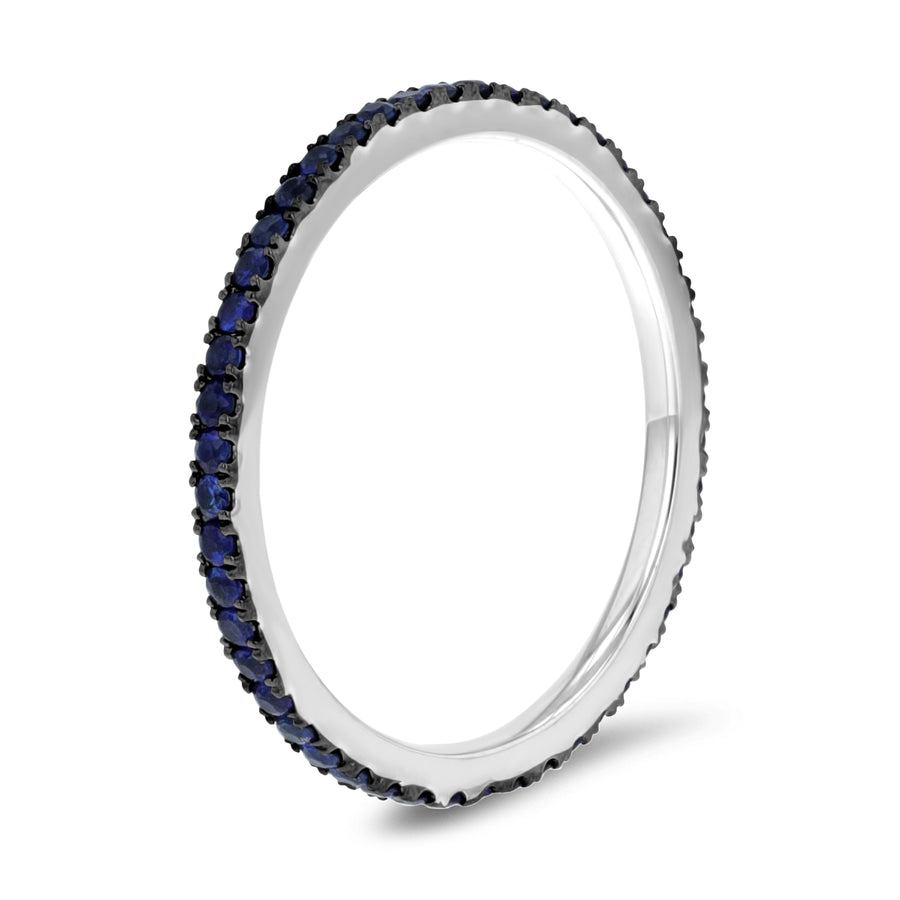 Sapphire Eternity Band, 0.51 ct - R&R Jewelers