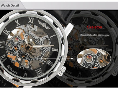 Real Mechanical Watch - Skeleton Design