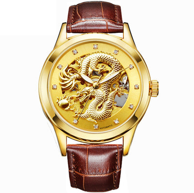 Amazing Dragon Mechanical Automatic Watch