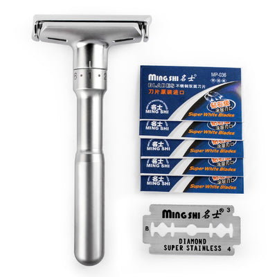 Adustable Dual Edge Safety Razor