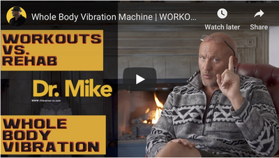 Whole Body Vibration Machine WORKOUTS VS. REHAB! BIG DIFFERENCE!