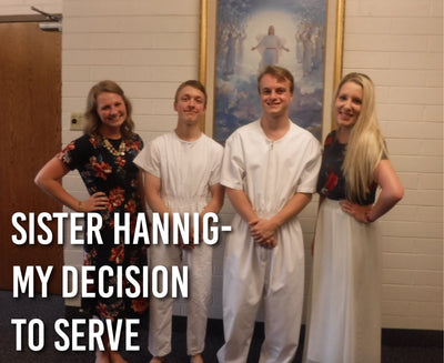 Sister Hannig- My Decision to Serve