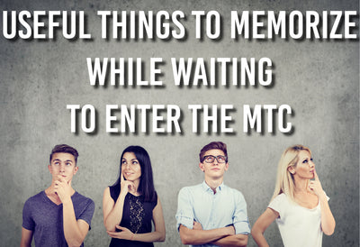 Useful Things to Memorize While Waiting to Enter the MTC