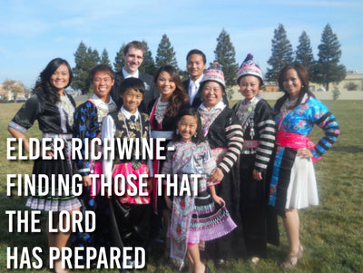 Elder Richwine- Finding Those that the Lord has Prepared