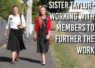 Sister Taylor- Working with Members to Further the Work