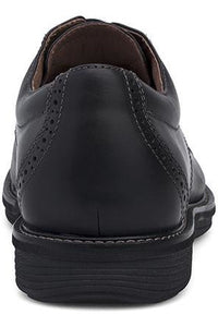 Dansko Justin Black Oiled Nubuck Leather