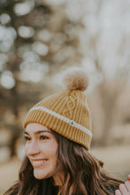 Load image into Gallery viewer, General - Anya Bobble Hat Gold