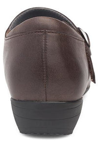 Dansko Fawna Chocolate Burnished Nappa