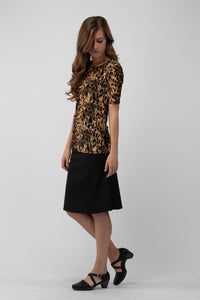 Lillie Top Leopard