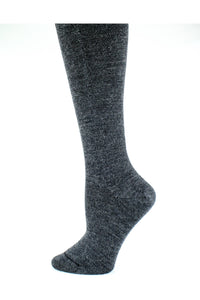 Merino Wool Tights Graphite Mix