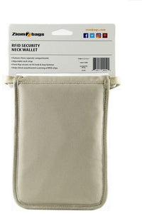 RFID Security Neck Wallet