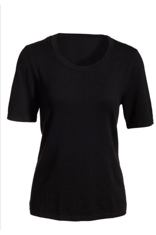 General - Scoop Neck Sweater Black