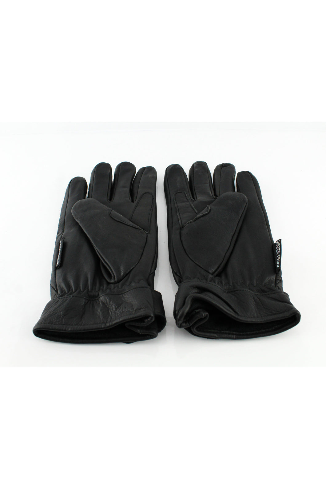 Leather Gloves - Leather Gloves Black