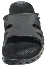 Load image into Gallery viewer, Sensi Shower Sandals Black