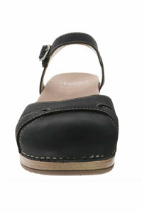 Shoes-Sisters - Betsey Black Milled Nubuck