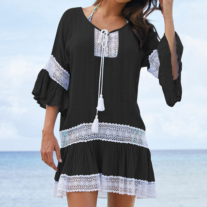 Summer Pareo Beach Cover Up