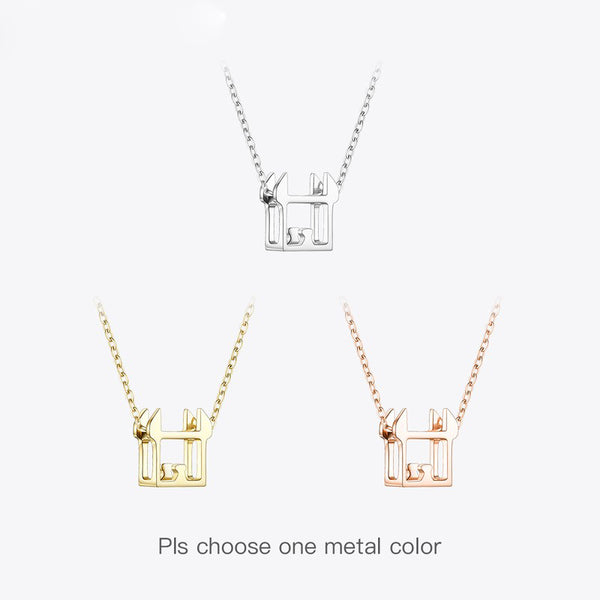 Chinese Zodiac Pendants  Necklace