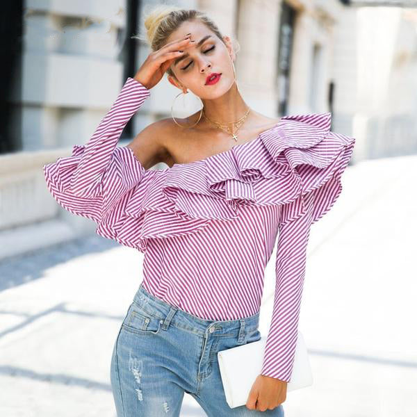 Killing It Ruffle Casual Blouse