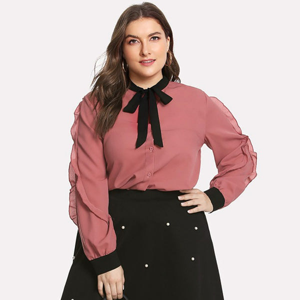 Subtle But Stylish Chiffon Blouse