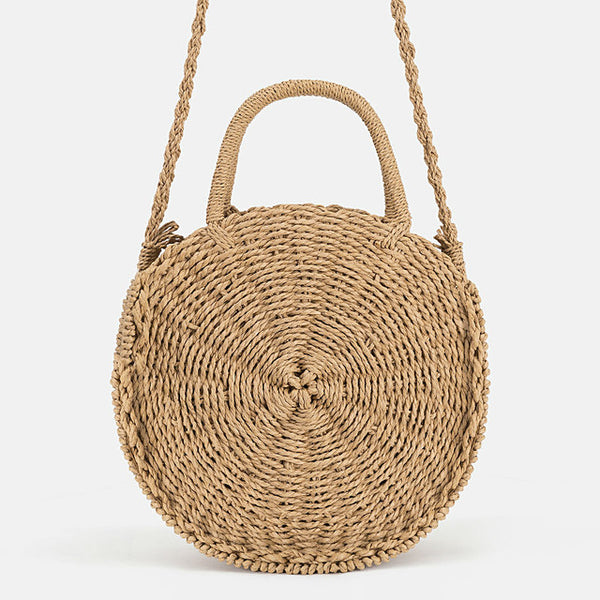 Style Meets Casual Straw Bag