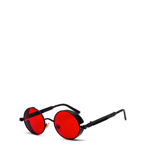 Berkeley | Retro Round Steampunk Sunglasses