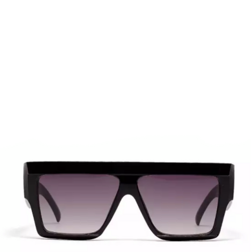 Oasis | Flat-Top Square Sunglasses in Black