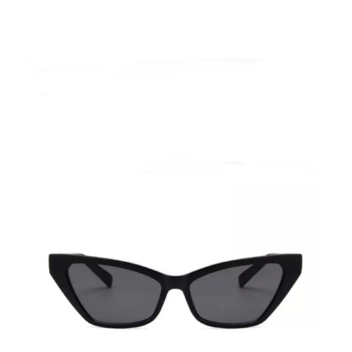 Sinner | Classic Angular Cat-Eye Sunglasses in Black