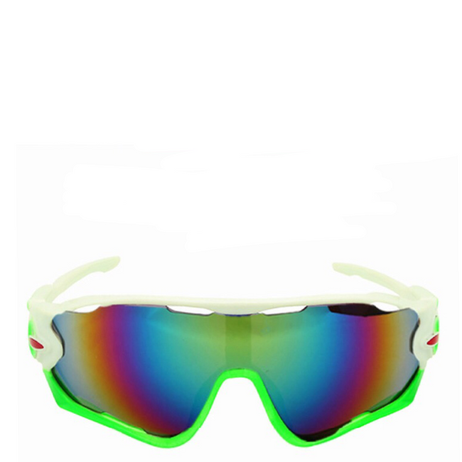Venom | Sports Sunglasses in White x Green